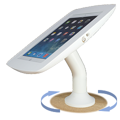 Tablet, iPad Countertop stand or wall mount