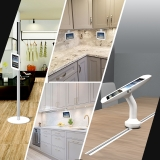 New track mount stands- the S1 and G1 tablet floor stand and tablet desk stand