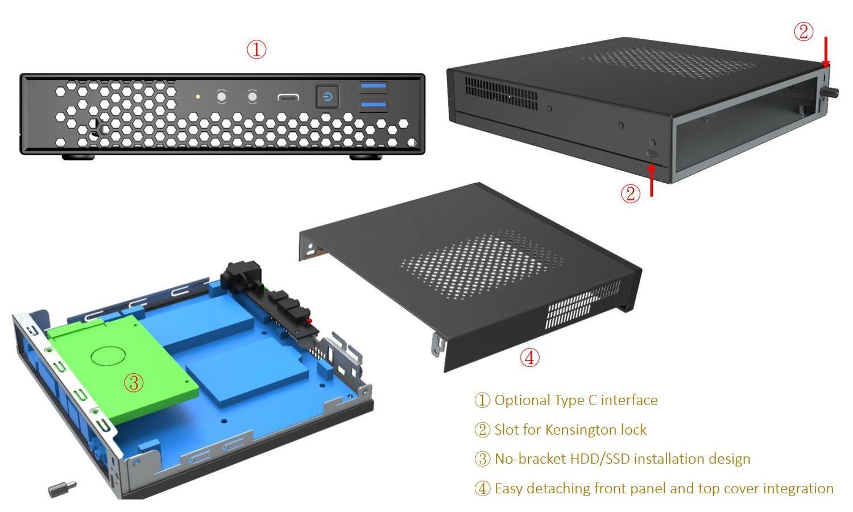 Thin ITX YY-C103
