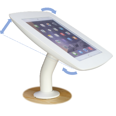 YY-KP01-T31A Swivel and Tilt Tablet Stand